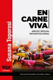 """Tapa del libro """"En Carne Viva"""" de Susana Toporosi"""