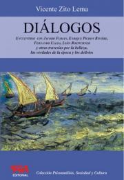 Tapa del libro Diálogos de Vicente Zito Lema