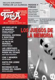 Tapa del la revista: LOS JUEGOS DE LA MEMORIA