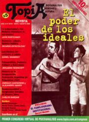 Tapa RevistaTopía n18. El poder de los ideales