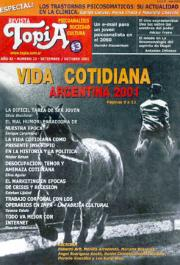 VIDA COTIDIANA ARGENTINA 2001