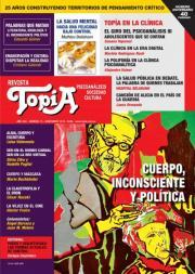 Tapa Revista Topía n75. Cuerpo, inconsciente y política. Noviembre 2015