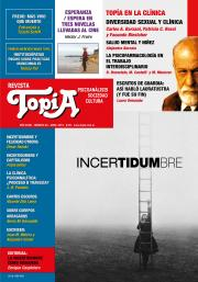 Tapa de Revista Topía #82 (Abril/2018) - Incertidumbre