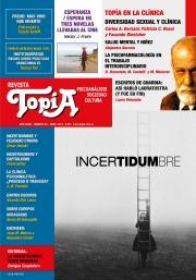 Tapa de Revista Topía #82 (Abril/2018) - Incertidumbre