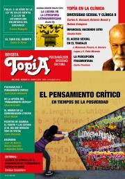 Tapa Revista Topía #83 (Agosto/2018) El pensamiento crítico en tiempos de la posverdad.