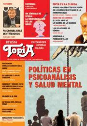 Tapa de la revista Políticas en Psicoanálisis y Salud Mental