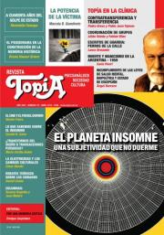 Tapa Revista Topía n76. El planeta insomne. Una subjetividad que no duerme.