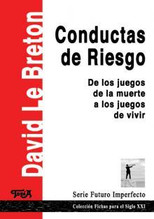 Tapa del libro Conductas de Riesgo