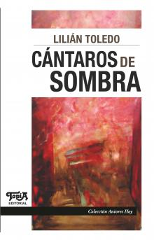 "Tapa del libro ""Cántaros de sombra"" de Lilian Toledo"