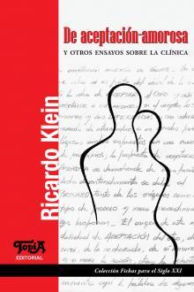 """Tapa del libro """"De aceptación-amorosa"""" de Ricardo Klein"""