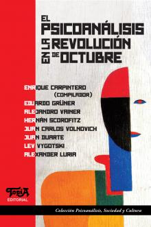 """Tapa del libro """"Psicoanálisis en la revolución de octubre"""""""
