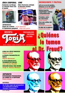 Tapa de la revista Topía: ¿Quienes le temen al Dr. Freud? de Ago/2011
