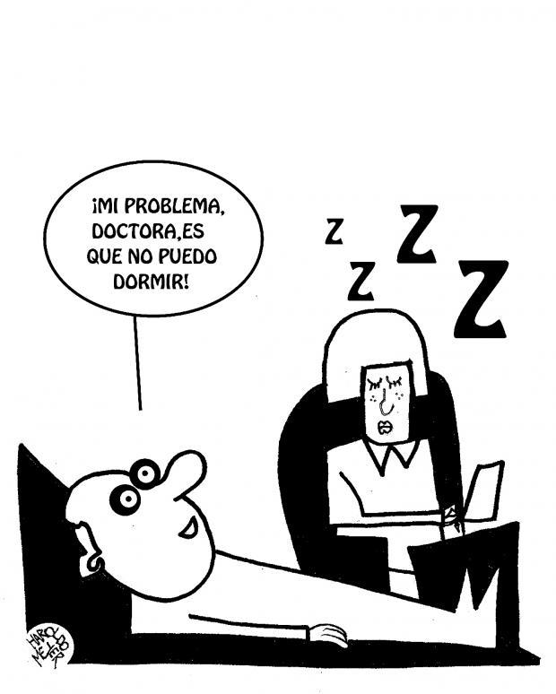 Haroldo Meyer: Faltante y sobrante de sueño